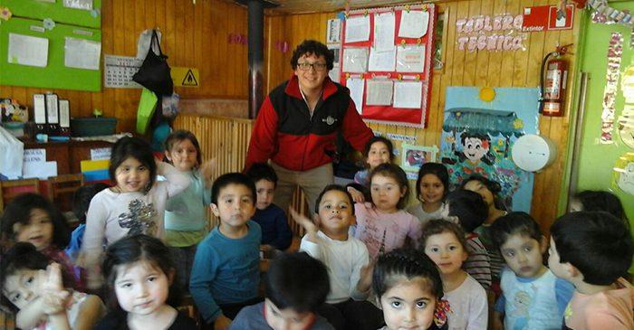 Actividad especial en Jardín infantil Capullito