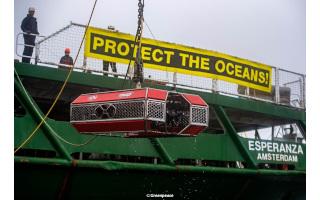 Colaboración con Greenpeace