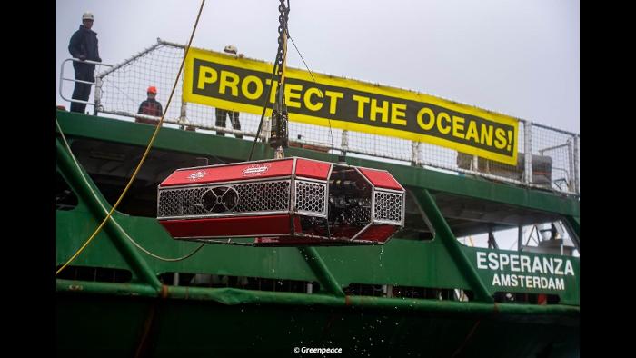 Rov Mariscope y Greenpeace