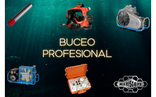 Buceo profesional.